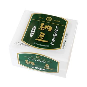 【美味安心】しっかり歯ごたえ納豆3Pパック